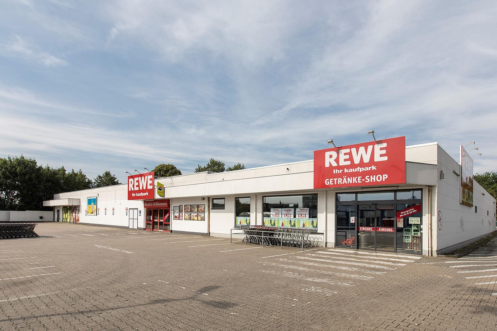 Verbrauchermarkt Solingen (Rewe + Getränkemarkt) · EGK ...